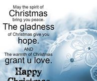 May The Spirit Of Christmas Bring You Peace The Gladness Of Christmas Give You Christmas Wishes Messages Christmas Greetings Quotes Christmas Wishes Greetings
