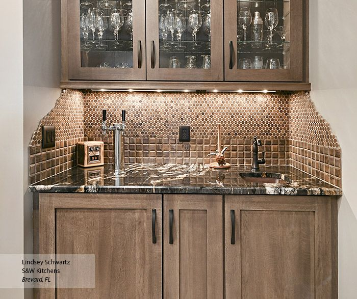 Wet Bar Cabinets - Omega Cabinetry | home design | Wet bar ...