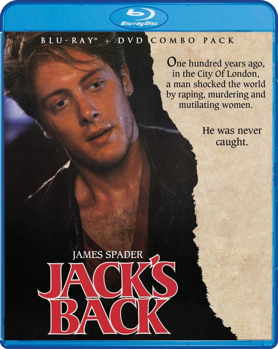 Review Jack's Back (Scream Factory BluRay em 2020