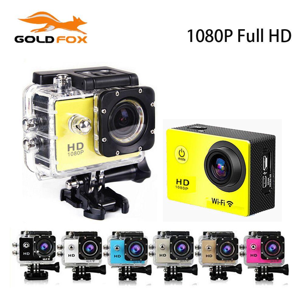 Goldfox Outdoor Action Mini Camera A9 1080P Full HD Sport