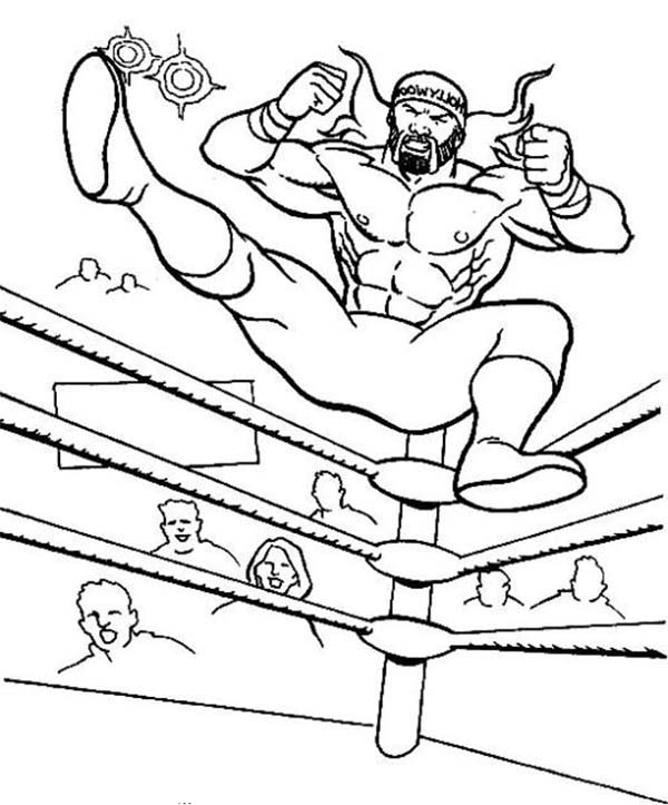 - Wrestler Jump From Wrestling Ring Coloring Page : Color Luna In 2020 Coloring  Pages, Super Coloring Pages, Wwe Coloring Pages