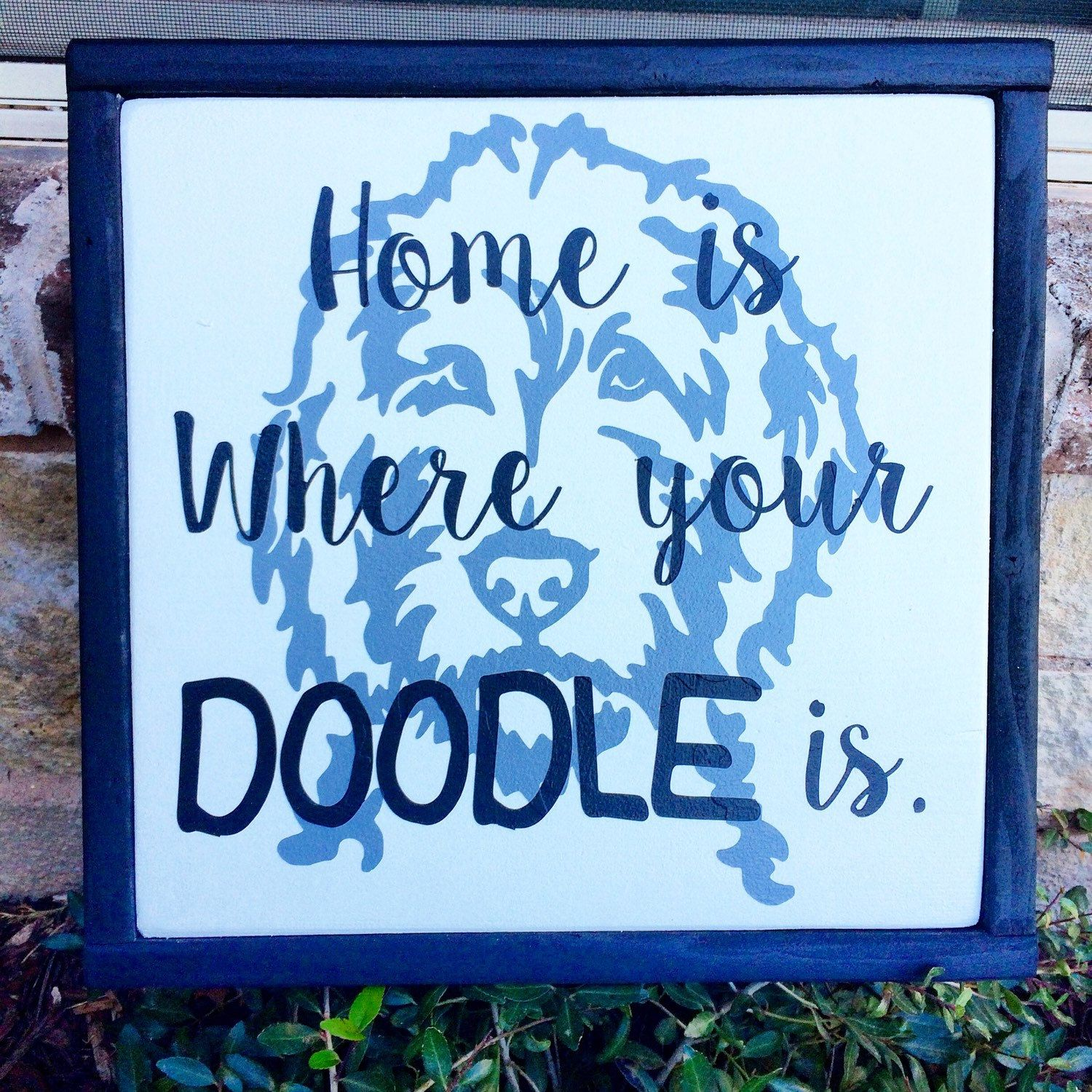 DOODLE sign, Goldendoodle, labordoodle, dog lovers, pet decor, custom dog sign, personalized pet decor, pet gifts