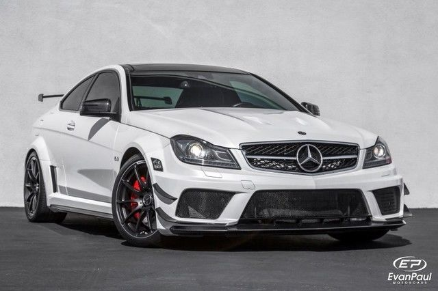 2012 Mercedes Benz C Class C63 Amg Black Series With Images