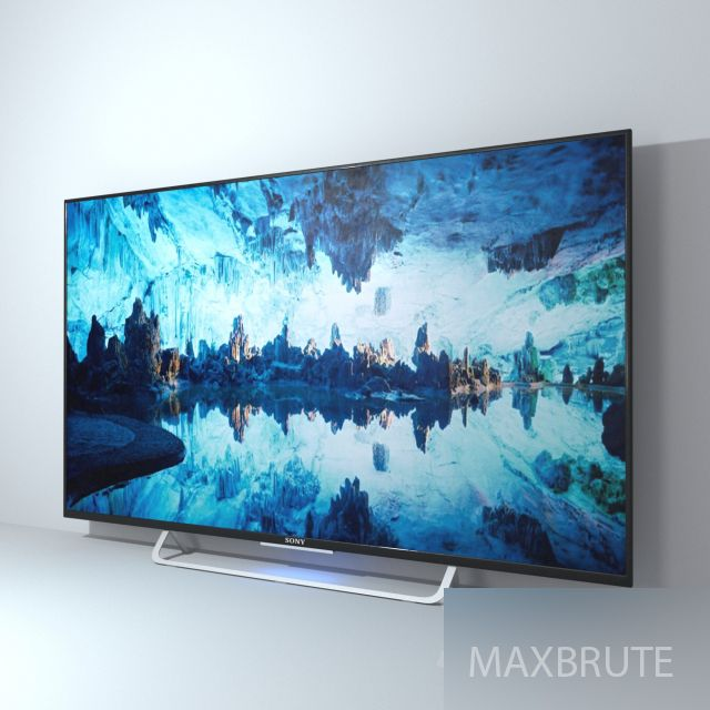 TV BRUTE01 | 3D furniture | Sony, Model, Television