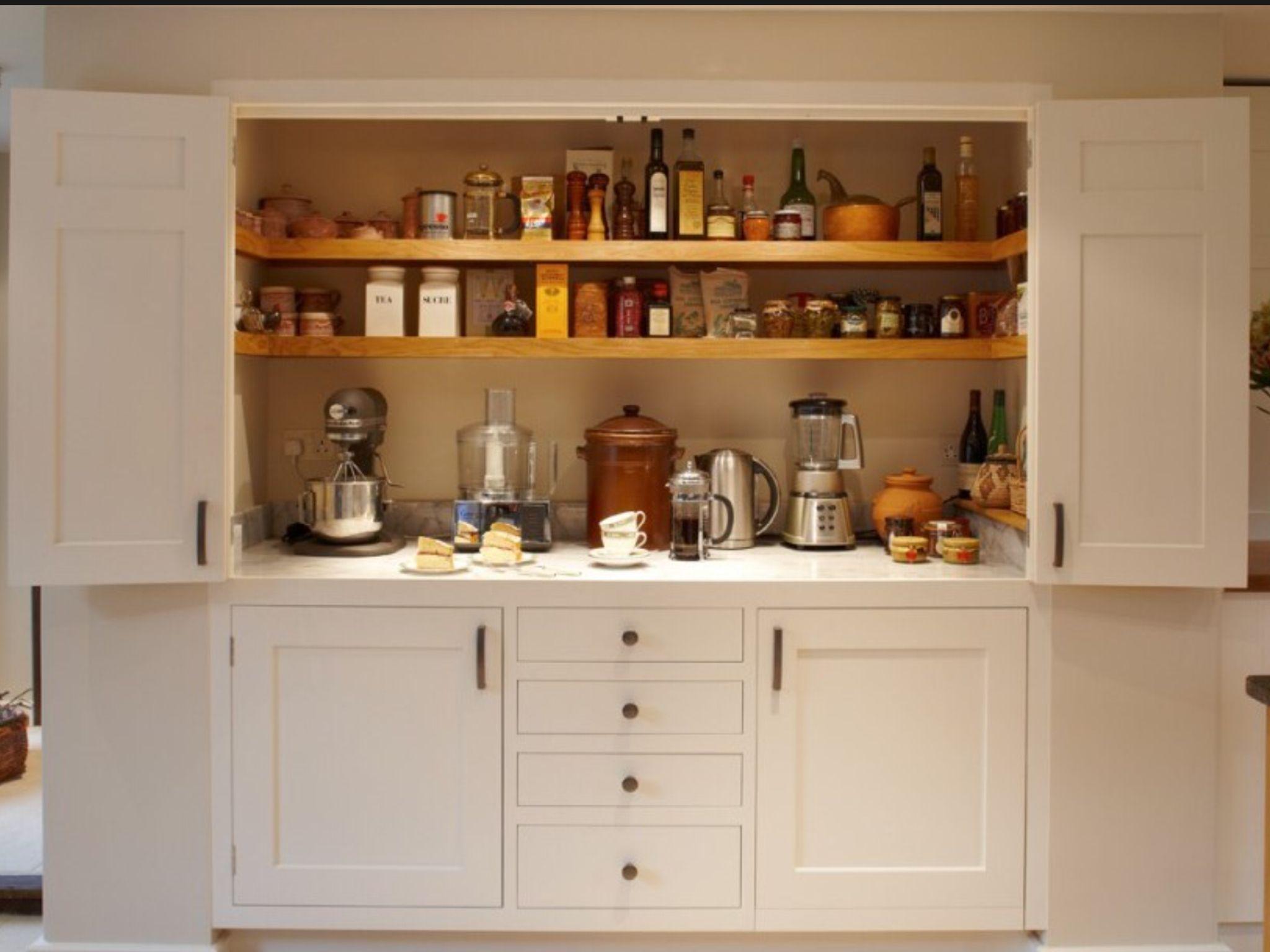 Merveilleux Larder Baking Cupboard