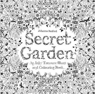 A Secret Garden Coloring Book Created In Beautifully Detailed Pen And Ink Illustrations