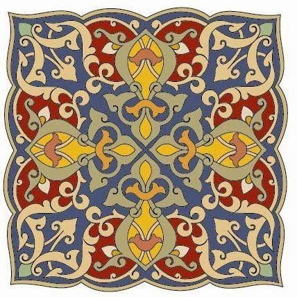فن الخط العربي زخارف اسلامية جميلة متنوعة Beautiful Decorations Islamist Variety Islamic Art Pattern Persian Art Painting Pattern Art