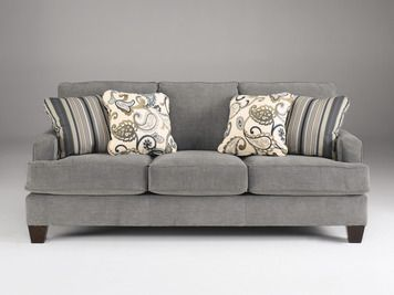 Yvette Sofa In Gray | Ashley | Home Gallery Stores