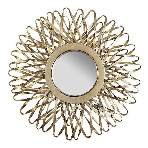 Espejo Sol   Material: Metal   Material: El montaje proporcionado por PortobelloStreet.es no incluye, colgar el articulo ni realizar taladros en la pared.... Eur:177 / $235.41