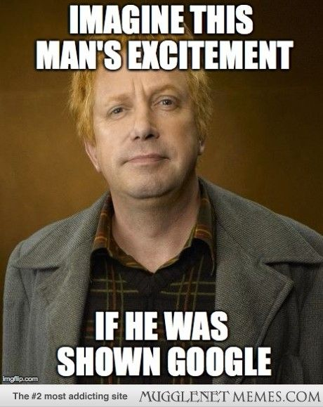 His first search would be the exact function of a rubber duck - - Harry Potter Memes and Funny Pics - MuggleNet Memes