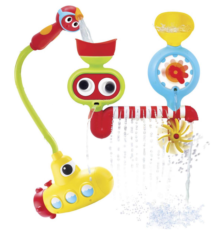 Yookidoo Badewannenspiel UBoot Bunt, Wasserspiele und