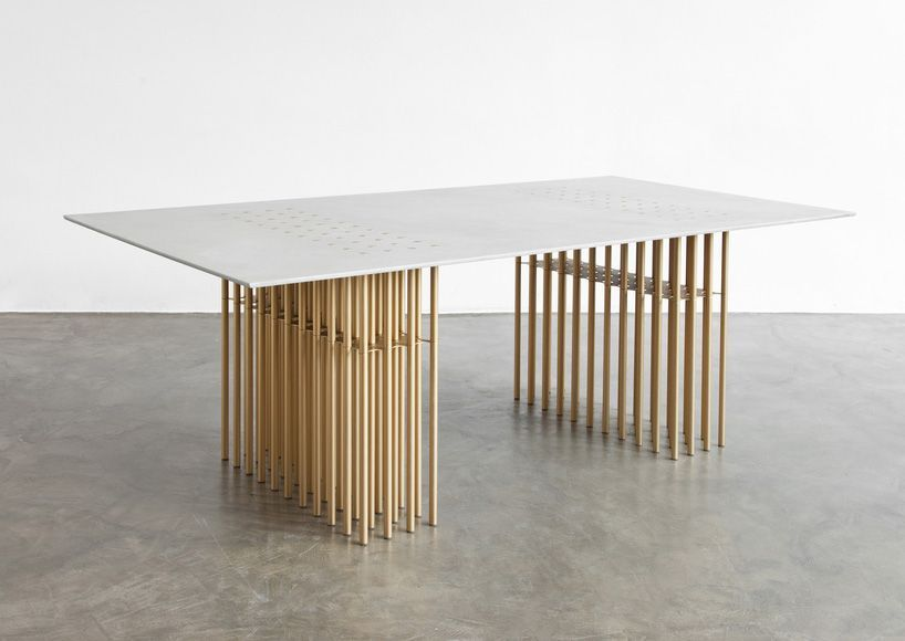Sebastien Leon Atelier D Amis Furniture Company Designboom Luxuryfurniturecompanies Mesas De Comedor Muebles Frescos