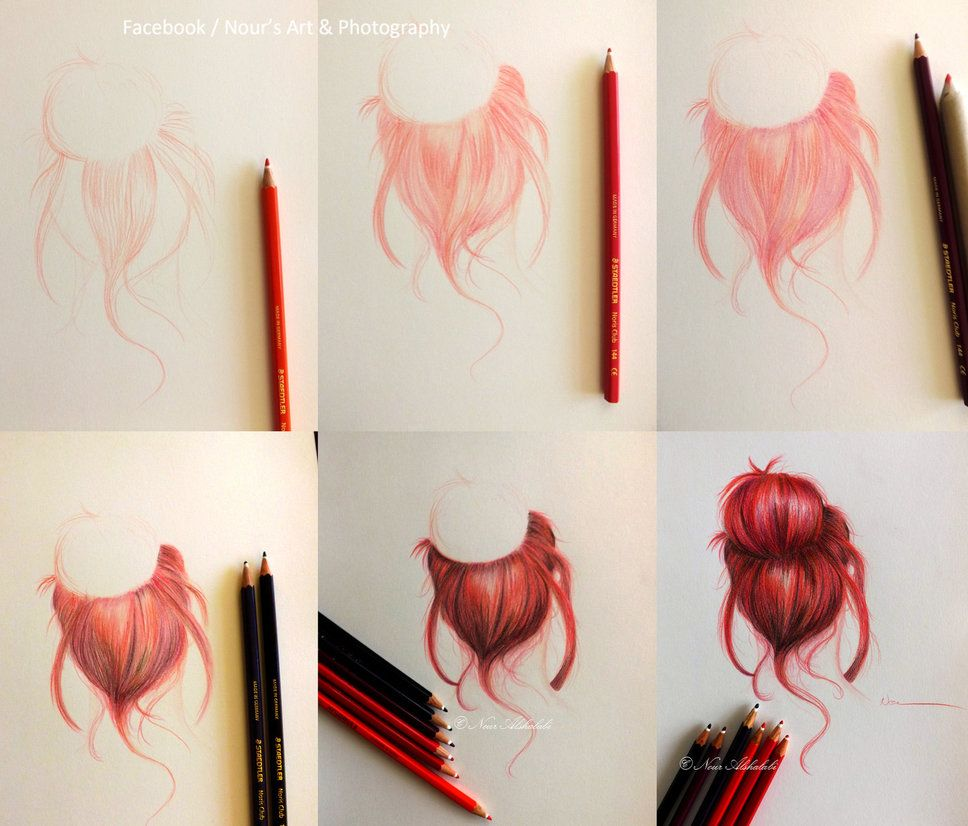 I used Staedtler colored pencils and #6 blending stump. My ...