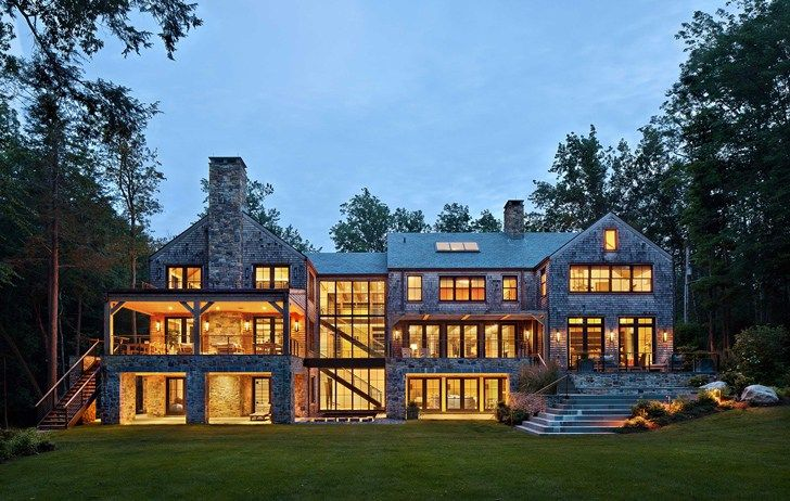 Luxury Lake House In The Usa Ideas Homes Modern Lake House Lake House Tree House