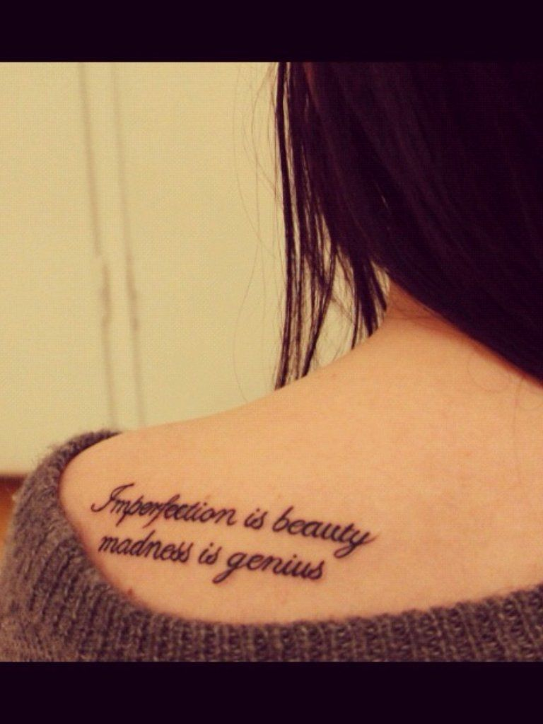 Calligraphy Tattoo Pinterest Imperfection Is Beauty Tattoo Designs Google Search Tattoos
