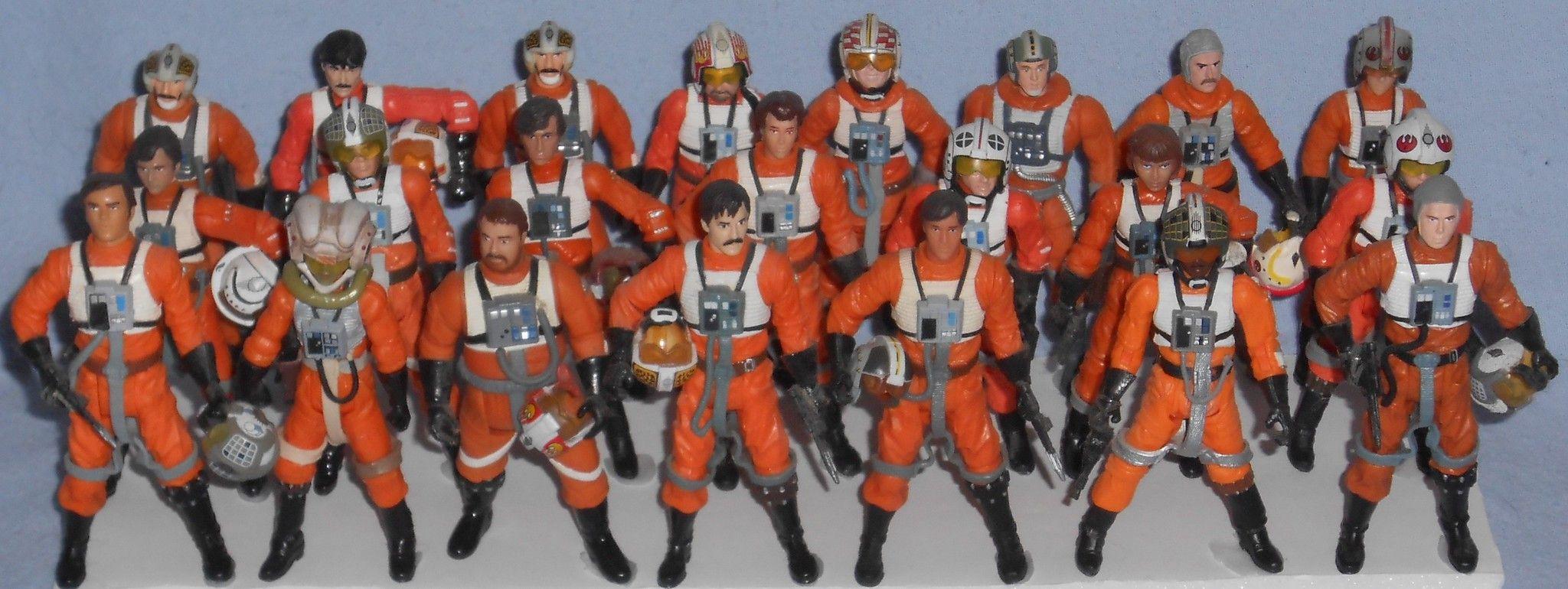 Prototype  Star Wars Galactic Heroes Clone Trooper Hasbro 2004