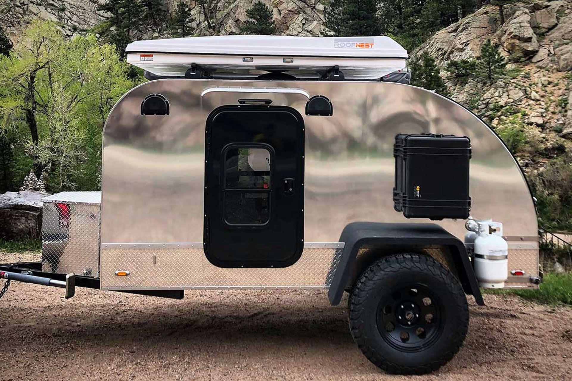 Summit Teardrop Off Road Camper Off Road Camper Trailer