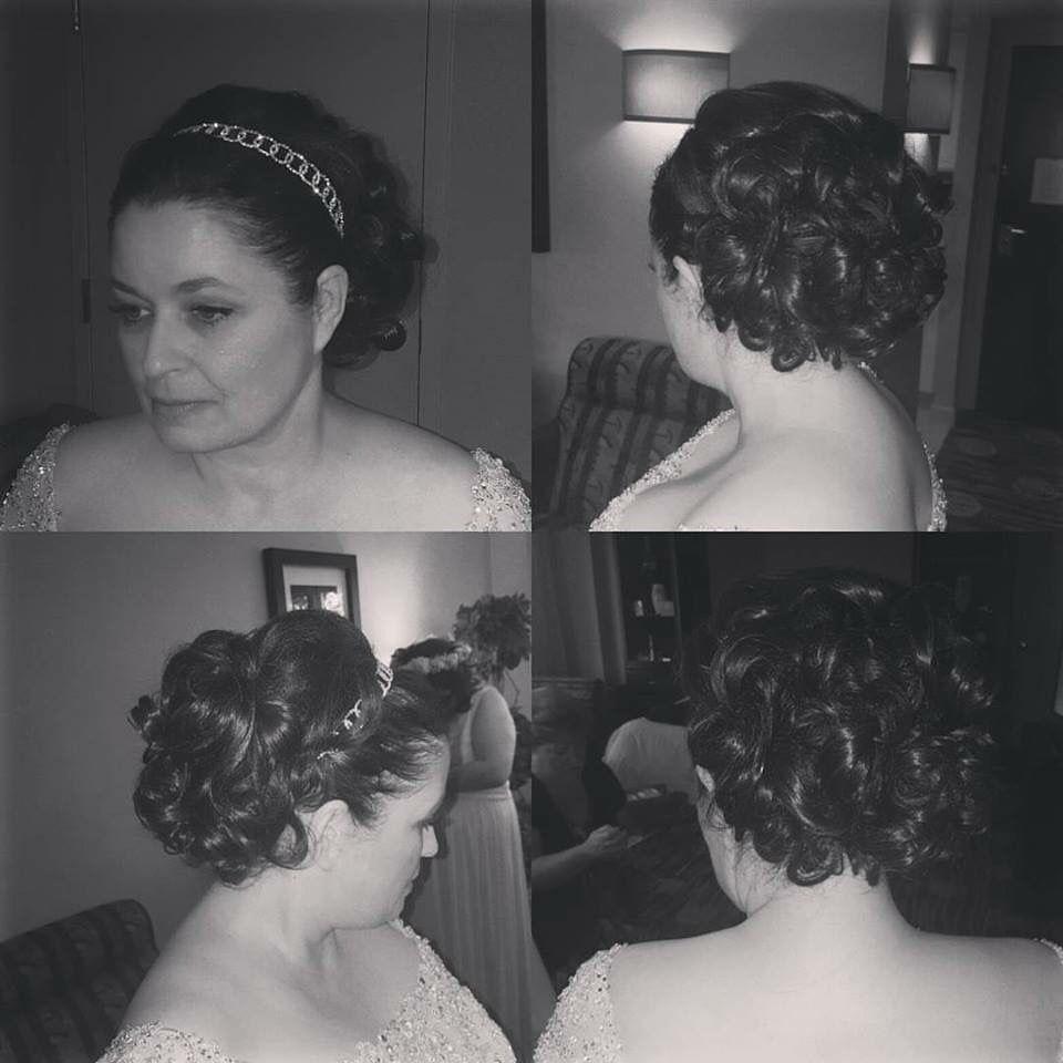 wedding hair by nicky coy at shear luxury in somerset nj | wedding