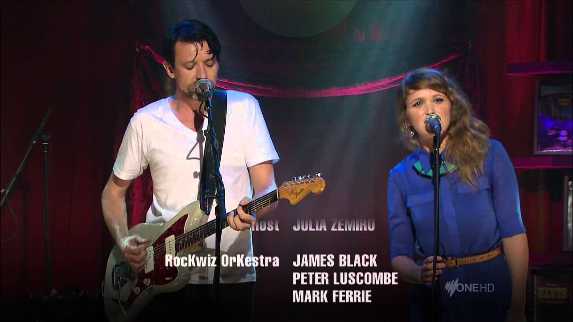 Paul Dempsey Emily Lubitz Out Of Touch Hall Oats Cover Live On Rockwiz Paul Cover Singing