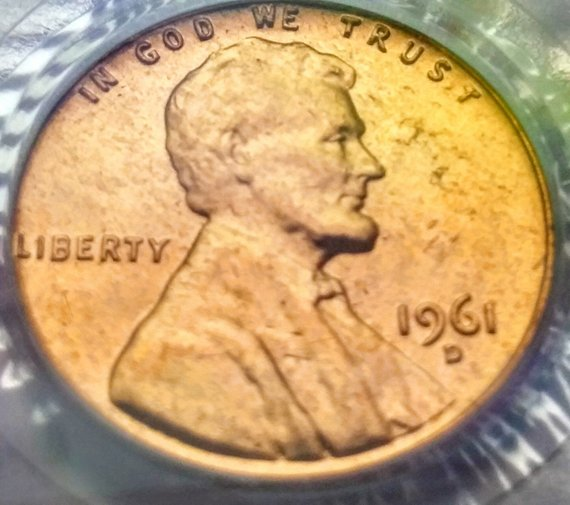 1961 D PCGS MS63RD Lincoln Memorial Penny Cent | Products