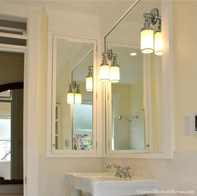 built in bathroom medicine cabinets. DIY Bathroom Remodel\u2014how To Design And Built A Transom Window Custom Medicine In Cabinets E