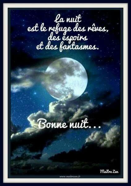 Bonne Nuit Bonne Nuit Message Bonne Nuit Et Citation
