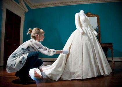 Conserving Royal Wedding Dresses | Art and Research | Pinterest ...