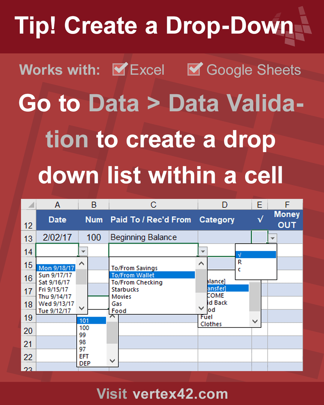 One Of My Favorite Features In Excel Watch The Howto Video And Read The Article For Some More Advanced Tricks Excel Skills To Learn Drop Down List