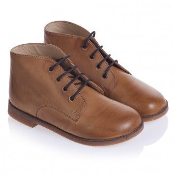 Boys brown shoes, Tan leather boots, Boots