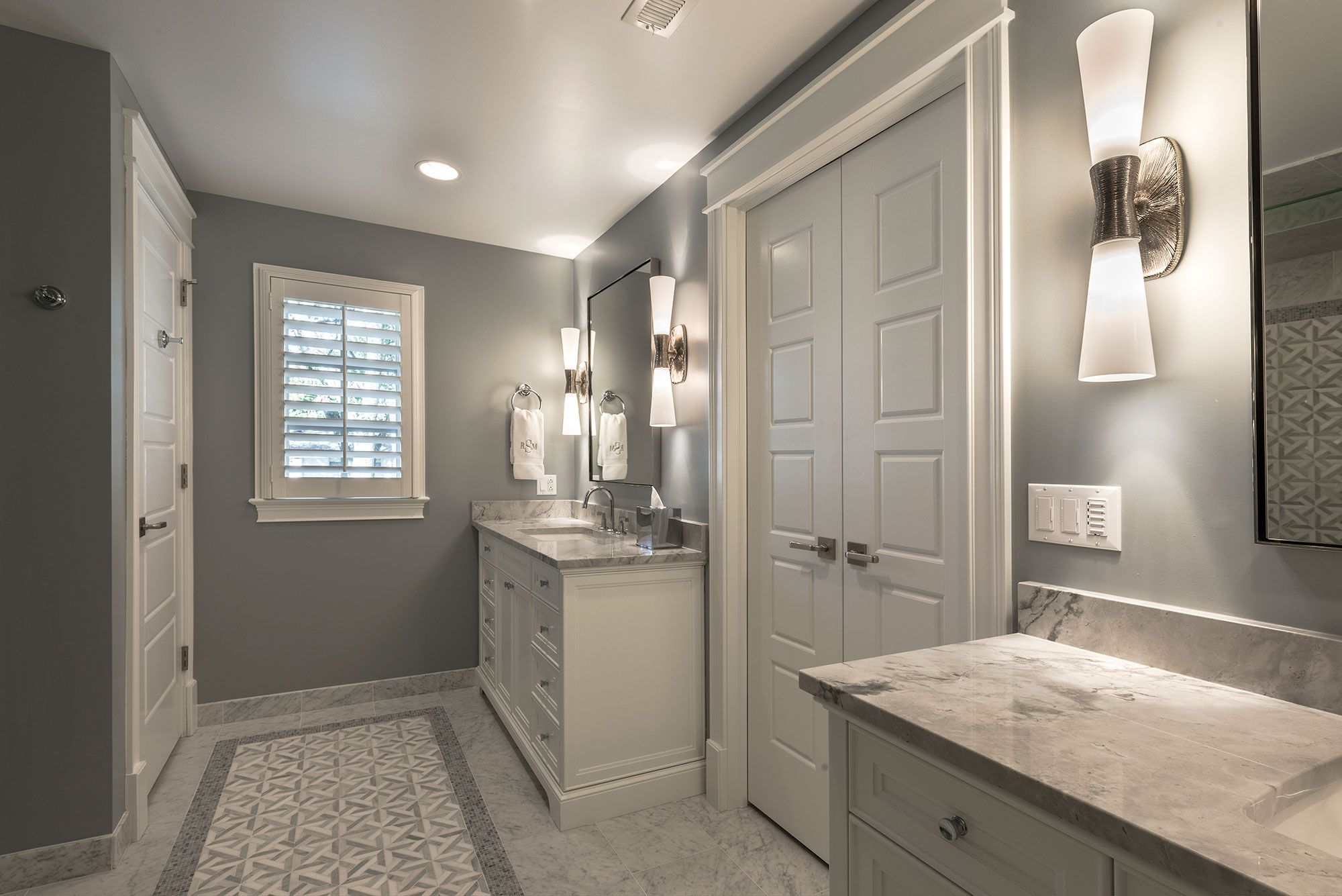 Master Bathroom Vanities Glenview Haus Custom Doors Wine