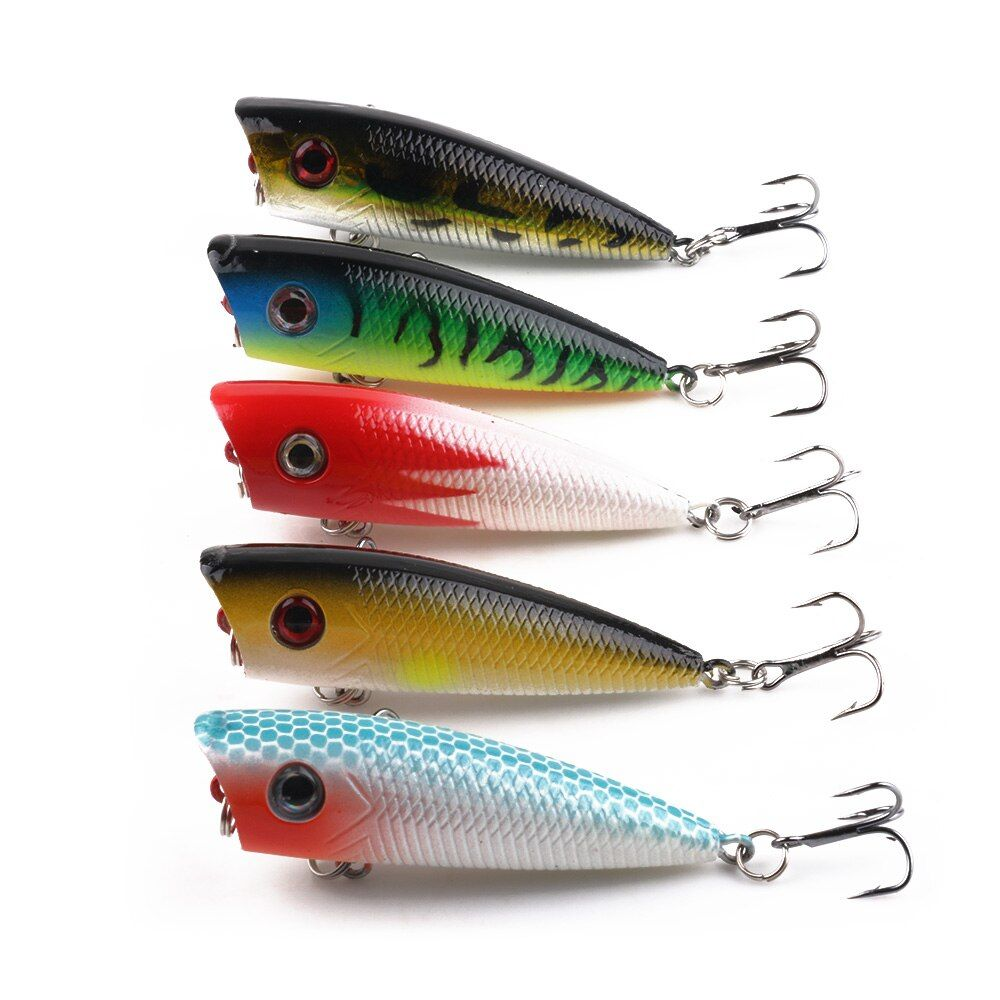 Aliexpress.com : Buy Lot 6pcs Fishing Topwater Floating