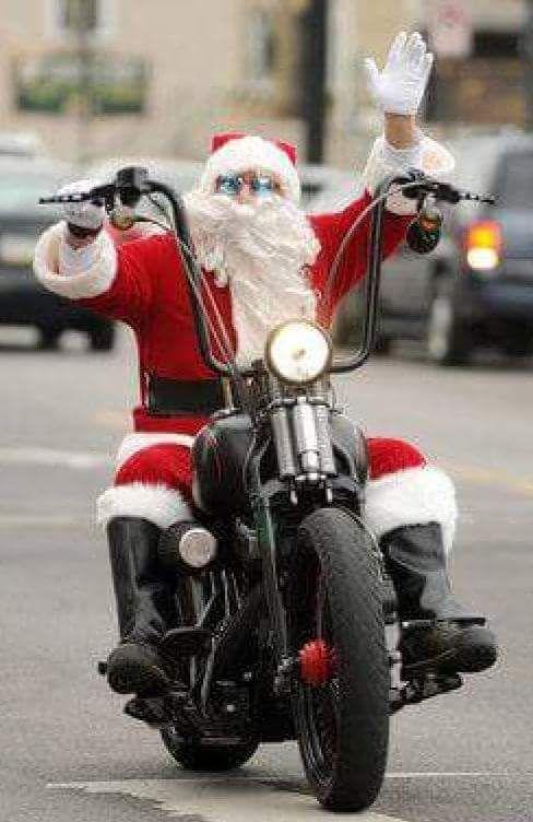 Motorrad Weihnachtsbilder.Biker Lifestyle Santa Bikers Christmas Motorräder Motorrad