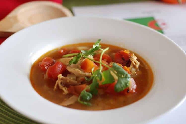 Chorba au poulet ftour ramadan – recette ramadan 2018.
