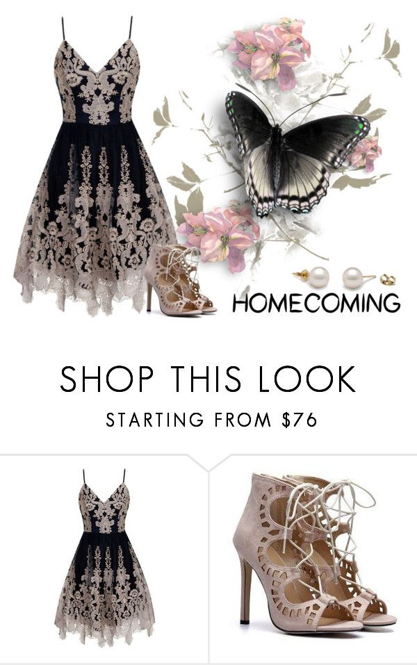 """Homecoming Style"" by mspoisonivey ❤ liked on Polyvore featuring Chi Chi"