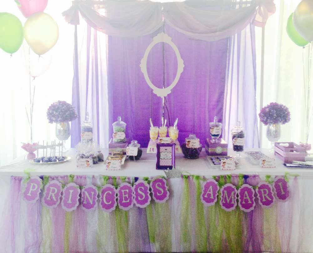 Great Little Princess Baby Shower (Lavender/Purple, Lime Green And Silver) |  CatchMyParty