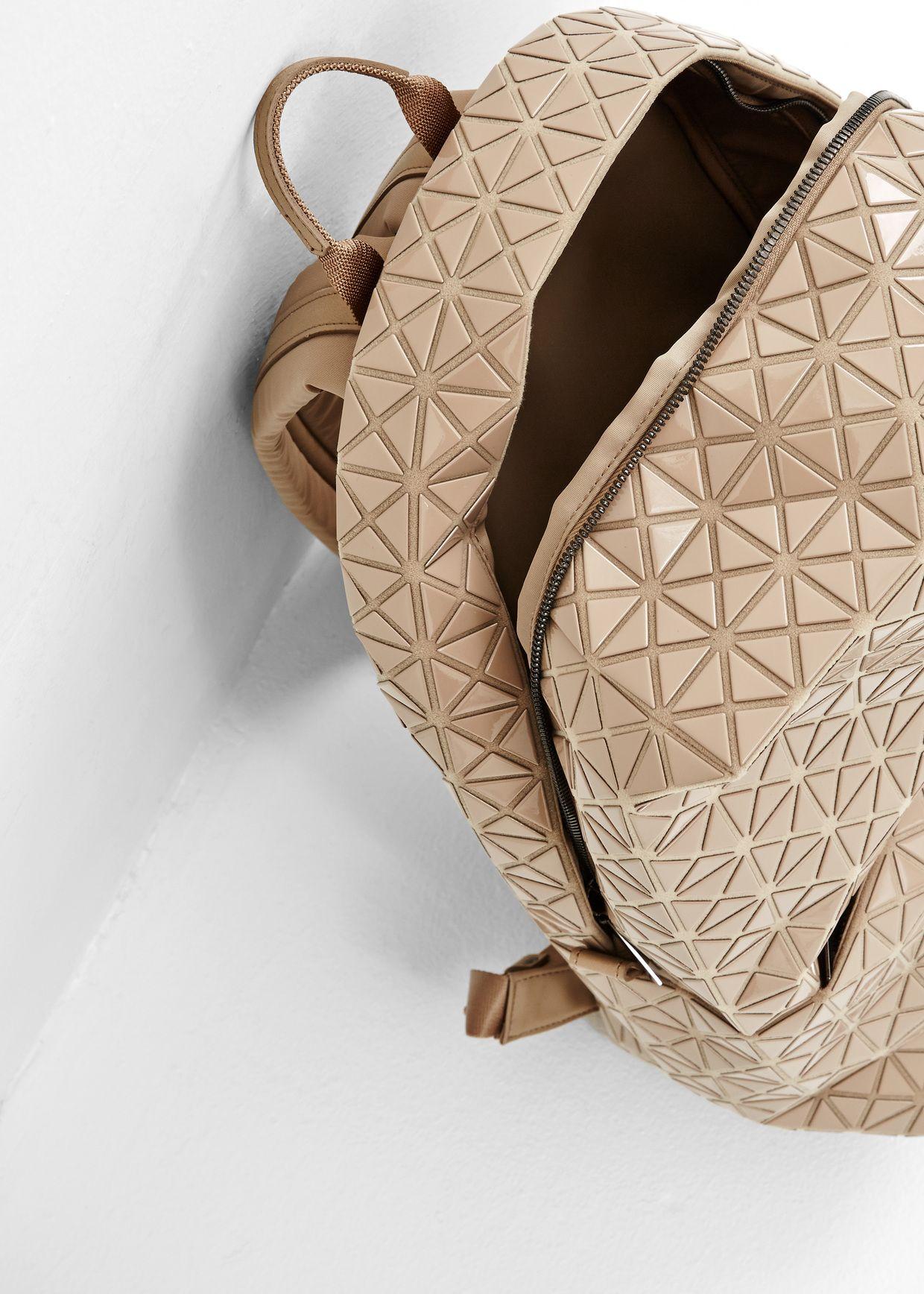 Totokaelo Issey Miyake Bao Bao Beige Backpack 1 196 00 Bags Beige Backpacks Bag Accessories