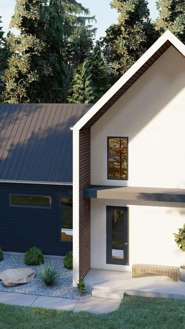 Ultra Modern Farmhouse Plan Laguna Hills