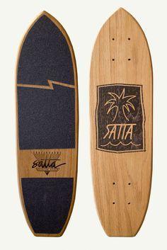 Template For Hipster Skateboard