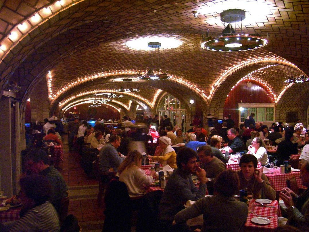 Grand Central Oyster Bar, New York at the Grand Central Terminal