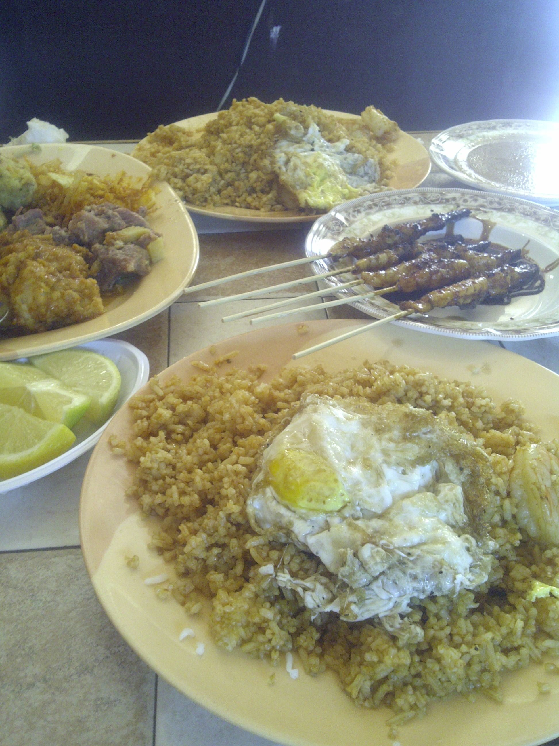 Indonesian Food , when i was at DinDin Restaurants