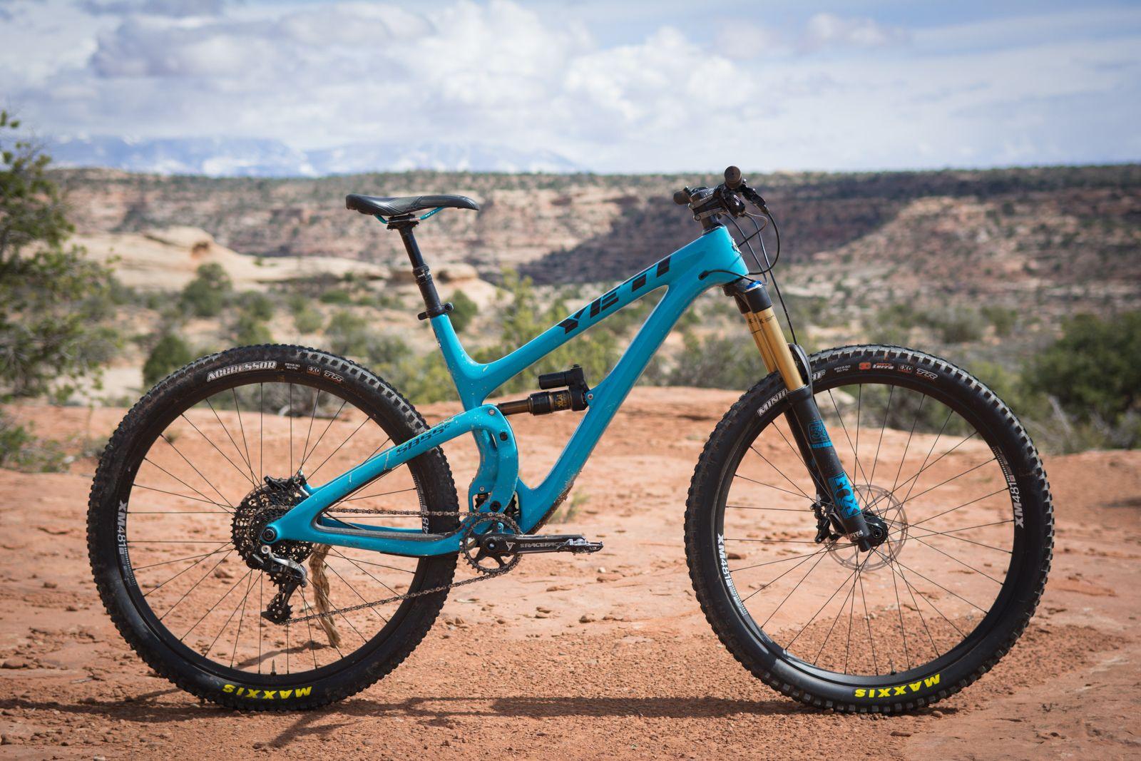 Yeti Sb5 5c First Ride Bike Ride Mountian Bike Downhill Bike