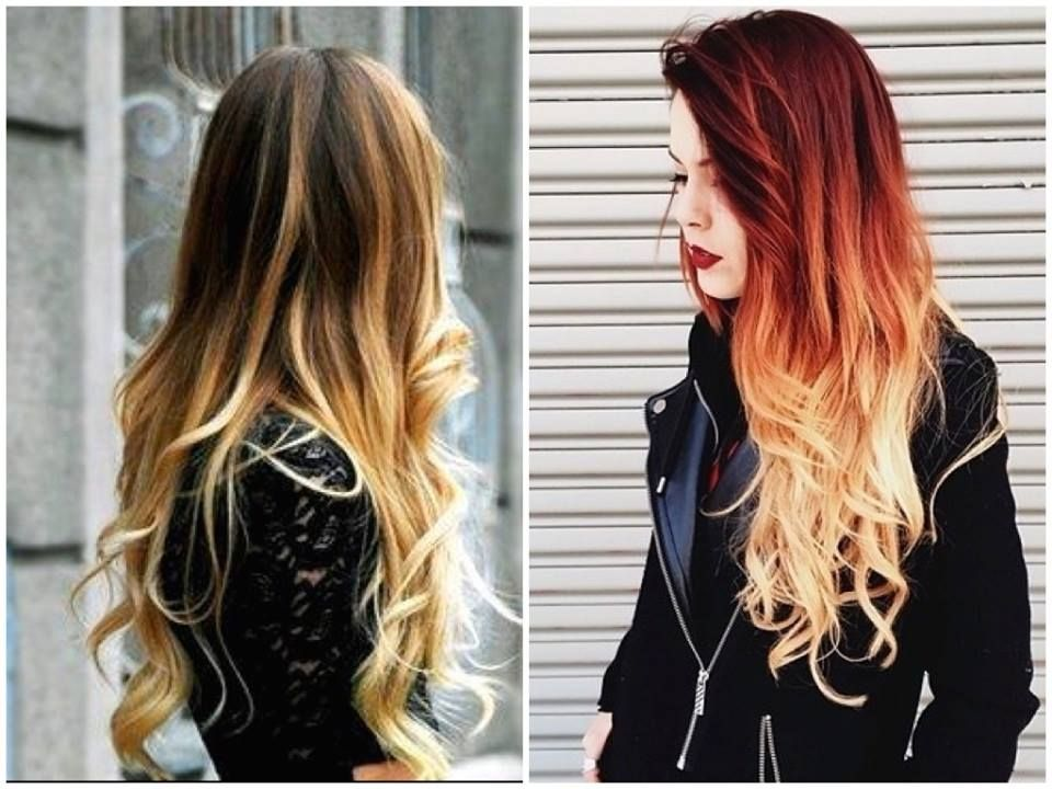 Different types of ombre hair | Hair do\'s! | Pinterest | Ombre ...