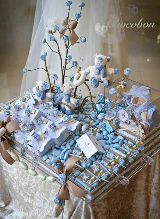 Deliciously elegant wedding chocolate arrangements by for Baby shower tray decoration