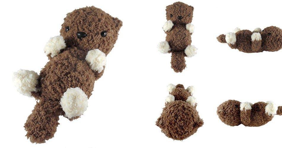 i crochet things: Pattern: Fluffy Otter Amigurumi | Crochet ...