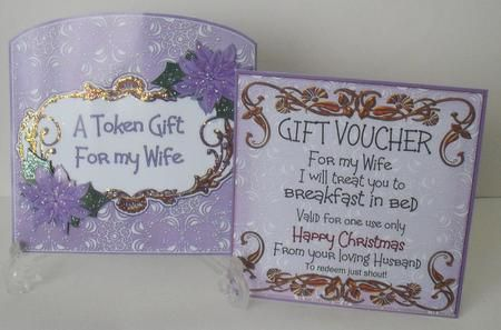 Wife Treat Breakfast In Bed Christmas Gift Pocket Mini Kit By