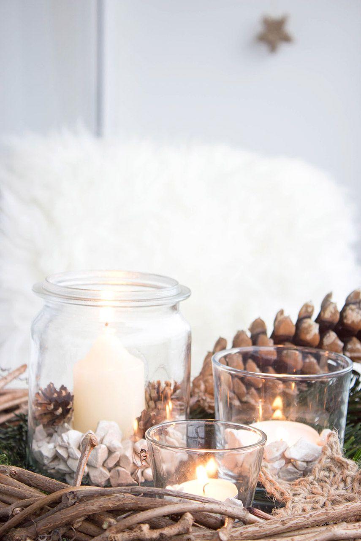 weihnachtsdeko auf dem balkon mit alten weckgl sern und geh kelten sternen diy ideen auf. Black Bedroom Furniture Sets. Home Design Ideas