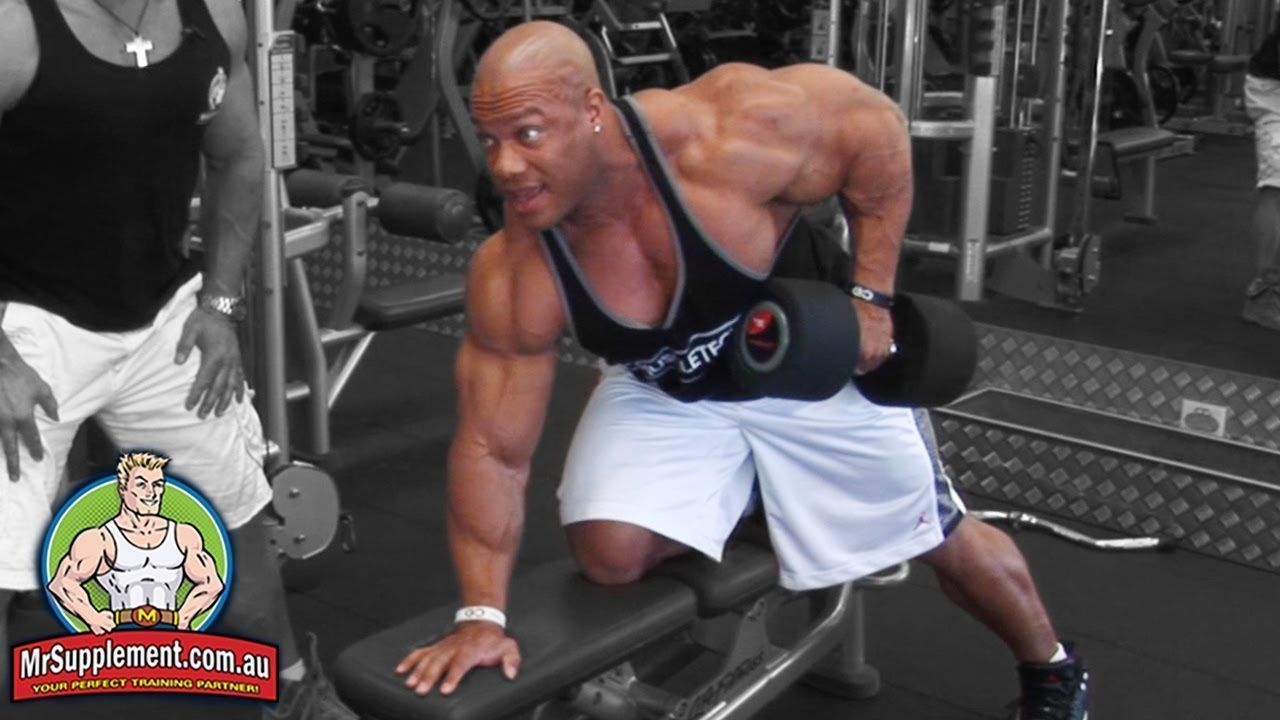Phil Heath's Dumbbell Row   Back Exercise #2 #philheath Phil Heath's Dumbbell Ro... -  Phil Heath's Dumbbell Row   Back Exercise #2 #philheath Phil Heath's Dumbbell Row   Back Exerci - #dumbbell #exercise #FemaleFitness #FitQuotes #FitnessModels #heath #heaths #PaigeHathaway #Phil #PhilHeath #philheath #Row #philheath