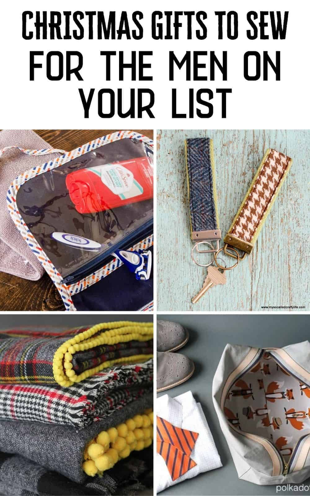 20 Christmas Gift Ideas To Sew For Everyone On Your List In 2020 Sewing Christmas Gifts Sewing Gifts Diy Sewing Gifts