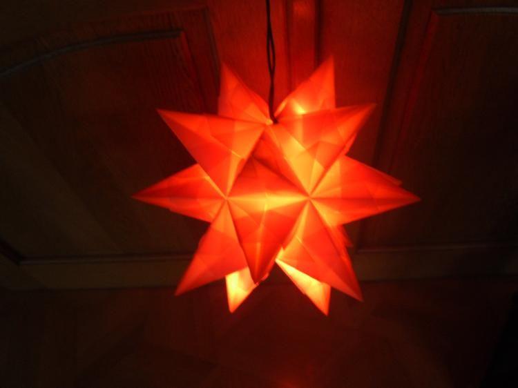 Beleuchtung Bascetta Stern | Weihnachts Stern Bascetta Stern Mit Beleuchtung M Weihnachten
