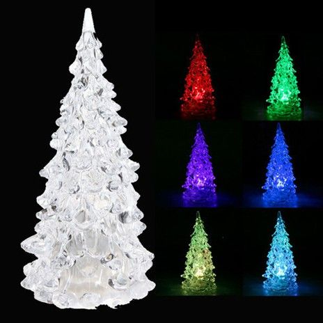 LED Miniature Christmas Tree - Color-changing Decoration! Now 58